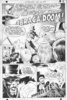WRIGHTSON, BERNI - Spectre #9 pg 1 splash, JSA's Spectre - Golden-age hero - Abraca-Doom 1969 Comic Art
