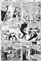 WRIGHTSON, BERNI - Swamp Thing #1 pg 8, 1st issue, 1st Alec Holland & wife, intro Matt Cable Comic Art