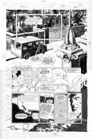 WRIGHTSON, BERNI - Punisher POV #1 pg 40, Punisher, war-van, big panel Comic Art