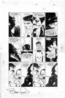 WRIGHTSON, BERNI - Punisher POV #2 pg 12, Punisher & villain Kingpin Comic Art