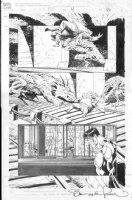 WRIGHTSON, BERNI - Punisher POV #4 pg 40, Punisher,  Subway & monster Comic Art