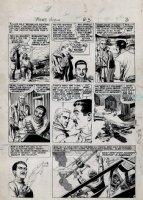 EVANS, GEORGE - Aces High #3 pg 3, Classic EC, planes! Comic Art