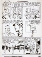 McWILLIAMS, AL - Airboy Comics vol.3 #9 pg 2, SkyWolf (also 1st  Heap issue) 1946 Comic Art