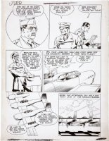McWILLIAMS, AL - Airboy Comics vol.3 #9 pg 5, SkyWolf (also 1st  Heap issue) 1946 Comic Art
