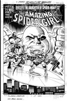 FRENZ, RON / SAL BUSCEMA - Amazing Spider-Girl #5 cover, Kingpin, HobGoblin+ Comic Art