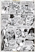 CHAN, ERNIE - Batman #282 pg 8, Batman revealed 1976 Comic Art