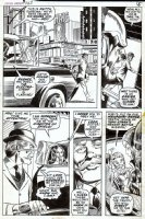 COLAN, GENE / SINNOTT & EVERETT? - Captain America #123 pg 11, Hydra villainess Suprema tricks SHIELD Comic Art