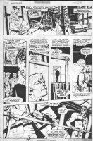 CHAYKIN, HOWIE / STARLIN scripts (signed by both) - Marvel Spotlight #31 pg, origin of Nick Fury Comic Art