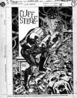 CASE, RICHARD - Morrison's Doom Patrol & Robot Man splash page profile Comic Art
