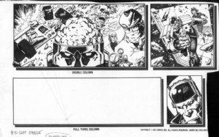 CASE, RICHARD - Morrison's Doom Patrol & Robot Man profile page 2 Comic Art