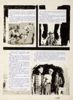 WILLIAMSON, AL / FRANK FRAZETTA & ANGELO TORRES - Crime Illustrated #3 large last page, to rarest EC comic! 1956 Comic Art