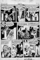 EISNER - Spirit 1947 Sunday page 3, early TV theme Comic Art
