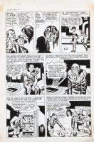 SIMON, JOE - re-inks JACK KIRBY FA #5 1954 story art - Fighting America #2 1966 pg 3, Invisible Irving Comic Art