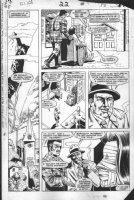 VOSBURG, MIKE - Larry Hama & Marvel's G.I. Joe #22 pg 13,  Baroness taken to Dr. Hundtkinder, 1st app., by Major Bludd, 1984 Comic Art