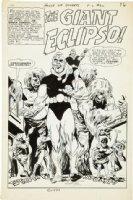 SPARLING, JACK - House of Secrets #80 page splash - Eclipso Comic Art