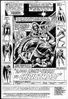 DILLIN, DICK - Justice League America #152 splash Comic Art