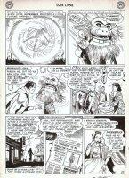PLASTINO, AL - Lois Lane #5 pg, Superman & Lois, 'Girl of 100 Costumes! Comic Art