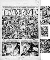 SEVERIN, EC JAM INGELS, DAVIS, CRAIG / Kurtzman layouts - Mad comic #7 pg 1, Old Witch, Crypt & Vault Keeper, Tarzan + Comic Art