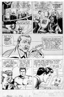 MANNING, RUSS- Magnus Robot fighter #9 pg 5, Magnus at the council Comic Art