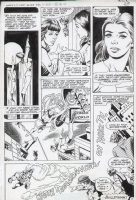 NEWTON, DON / KURT SCHAFFENBERGER - Worlds Finest #255 pg 11, Shazam - Mary Marvel + Bullet Girl & Bullet Man Comic Art