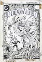 O'NEILL, KEVIN - Omega Men #24 cover, O'Neill' 1st DC cover 1985 Comic Art
