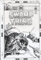 CHAN, ERNIE - Swampthing #22 cover Comic Art