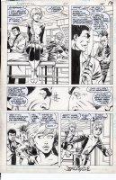 BYRNE, JOHN - Superman #20 pg 14, Doom Patrol cross-over Comic Art