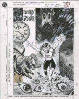 CASE, RICHARD - Morrison's Doom Patrol profile splash - Dorthy Spinner Comic Art