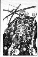 LAYTON, BOB - DC Starhunters ad promo art 1978  Comic Art