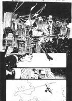 DE LA TORRE, ROBERTO - Ms Marvel v2 #1 semi-splash Comic Art