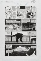 BAKER, KYLE - Shadow Annual #2 pg 10, 1st Shadow agent, Harry Vincent, recalls origin from 1st Shadow pulp Comic Art
