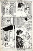 BYRNE, JOHN / LEONARD STARR - Action Comics #597 pg 15, Clark Kent, Lois & Lana Comic Art