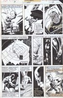 BUSCEMA, SAL / DON PERLIN with FRANK MILLER - Captain America #234 p 21, Daredevil, follows DD #158 Comic Art