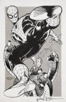 GOLDEN, MICHAEL P/I - El Paso Comic Con book cover 1982 - Spider-Man vs. Doctor Octopus Comic Art