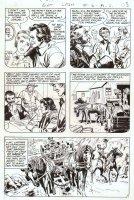 CARDY, NICK / MIKE SEKOWSKY -Bat Lash #6 pg 8, family land deal Comic Art