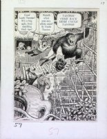 ELDER, BILL / KURTZMAN layouts - Help! Magazine #12,  Goodman Beaver, Goodman Meets Tarzan, 1961 Comic Art