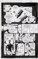 GULACY, PAUL - Batman Outlaws #2 pg 30, Bruce, Robin, Oracle, Alfred Comic Art