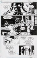 GULACY, PAUL - Batman Outlaws #2 pg 35, Batman & Catwoman faceoff Comic Art