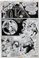 GULACY, PAUL - Master Kung Fu #50 pg 27, Shang Chi, Death of Fu Manchu 1974 Comic Art