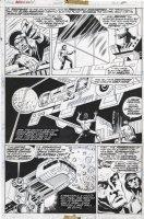 GULACY, PAUL - Master Kung Fu #50 pg 30, Shang Chi, Death of Fu Manchu 1974 Comic Art