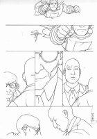 MIDDLETON, JOSH - Superman Shazam #? pg, Shazan, Luthor, Silvana Comic Art
