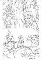 MIDDLETON, JOSH - Superman Shazam #? pg, Eclipso' origin, Bruce Gordon Comic Art