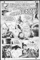 WRIGHTSON, BERNI - Spectre #9 pg 1 splash Comic Art
