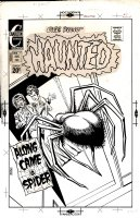 DITKO, STEVE - Haunted #7 cover, 'reverse' Spider-Man story 1972 Comic Art