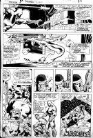 BUCKLER, RICH / KLAUS JANSON - Jungle Action #8 last pg, 3rd solo Black Panther story Comic Art