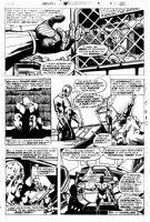 BUCKLER, RICH / KLAUS JANSON - Marvel Spotlight #33 (Astonishing Tales #37) pg 22, Deathlok the Demolisher Comic Art