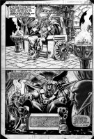 BUCKLER, RICH - What If? #25 last page, half splashes  Thor & Odin Comic Art