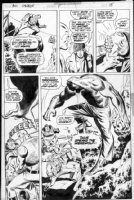 BUCKLER, RICH - Doc Savage #8 pg 15, Doc & Pat Savage, vs Werewolf Comic Art