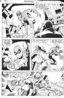 BUCKLER, RICH - What If? #30 pg, Spider-man Clone & Kingpin 1981 Comic Art