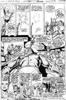 BUCKLER, RICH / KEITH POLLARD - Astonishing Tales #36 pg 11, new Deathlok + Luthor Manning Comic Art